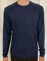 Lululemon Mens Size S Metal Vent Tech LS 2.0 Blue MINB/TRNV Long Sleeve Shirt