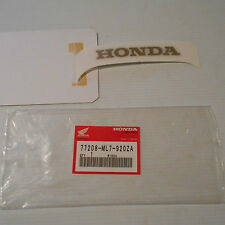 GENUINE HONDA PARTS STICKER HONDA MARK B RR TYPE 1 VFR750 88/89 77208-ML7-920ZA