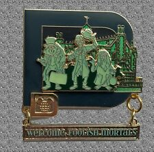 The Haunted Mansion attraction Pin - Classic 'D' collection - WDW Disney LE 1000