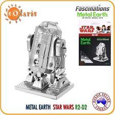 Fascinations Metal Earth STAR WARS R2-D2 Licensed 3-D Laser Cut Robot Model