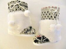 Doll Clothes Scandanavian Swedish White Furry Boots for American Girl Kirsten