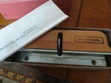 ULMIA No. 732 Wood Scraper Burnisher Made in Germany