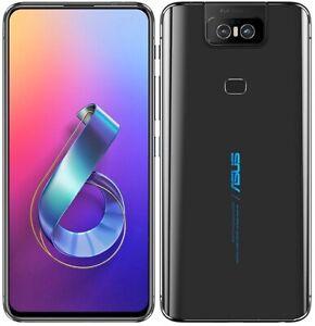 """ASUS Zenfone 6 (ZS630KL) 6.4""""  8GB/512GB Dual SIM Smartphone - Midnight Black"""