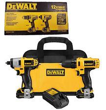 DeWalt 12V Drill/Driver DCD710 / Impact Driver DCF815 Combo Kit  DCK211S2   NEW