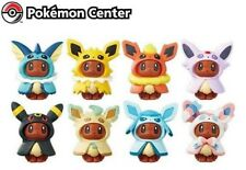 Pokemon Center Eevee Figure Collection Poncho Series Completed Set 8pcs