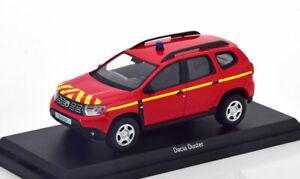 1:43 Norev Dacia Duster Pompiers 2018