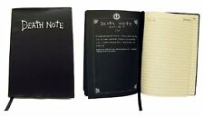 "Death Note Anime Set Cosplay NoteBook & Metal ""L"" Necklace"