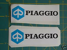 Logo Vespa Piaggio 2x Pegatinas GS, PX, Lml, GL
