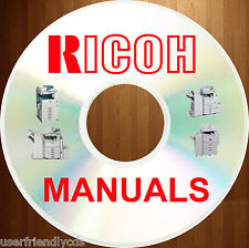 RICOH B/W Digital Copier SERVICE MANUALS & Illustrated PARTS CATALOGS Manual DVD