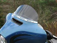 "8"" Dark Tint Windshield 2014- Current,  Harley, Street Glide, Ultra, Touring"
