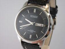 "J162 ⭐⭐ Grosse ""rivado"" día & fecha reloj pulsera cuarzo 40mm ⭐⭐"