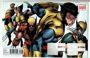 Marvel Comics FANTASTIC FOUR FF #3 VARIANT WOLVERINE EVOLUTIONS