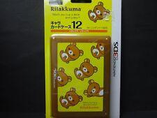 NINTENDO 3DS Rilakkuma Card Case 12 Made in JAPAN