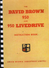 "David Brown ""950"" Implematic Tractor Instruction Manual"