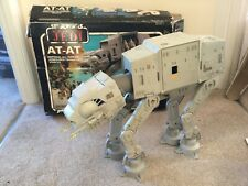 Vintage Star Wars Original AT AT complete with working electrics & ROTJ box 1983