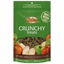 2 Nutro Natural Crunchy Dog Treats 10 Oz. Apple