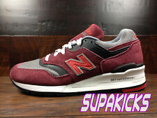 "New Balance M997CRG -MADE IN USA- 997 ""HERITAGE"" Kith (Burgundy) OG MENS Sz 7-12"