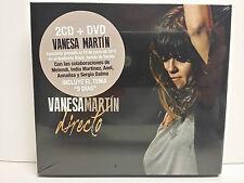 VANESA MARTIN - DIRECTO - 2 CD + DVD - 23/10/2015 - NUEVO - PRECINTADO - SEALED