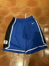 Vintage Nike NCAA Duke Blue Devils Basketball Shorts Size Large