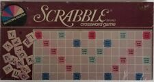 New Vintage 1983 Scrabble Crossword Game No.17 by Selchow & Righter Sealed