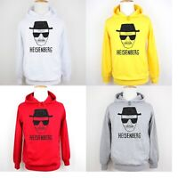 Breaking Bad Heisenberg Sketch Print Sweatshirt Unisex Hoodies Graphic Hoody Top