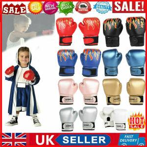 UK Kids Boxing Gloves Junior Training Punching Bag Child Sparring Gloves Mitten