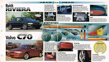 1999? Buick Riviera vs. Volvo C70 Road Test Showdown Brochure, C-70