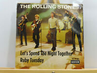 "The Rolling Stones - Let's Spend The Night Together / Ruby Tuesday (7"", Single)3"