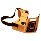 """New For Google Cardboard Valencia Quality VR 3D Virtual Reality Glasses fit 4-6"""""""