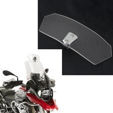US New Universal Motorcycle Motobike Clear Windscreen Windshield Wind Deflector