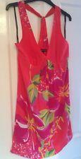 Warehouse BNWT Silk Impact Poppy Dress - New - Size 10