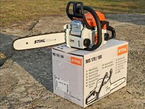 Original Stihl MS 180 C-BE Gas Chainsaw