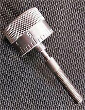 Dillon powder measure adjustable knob