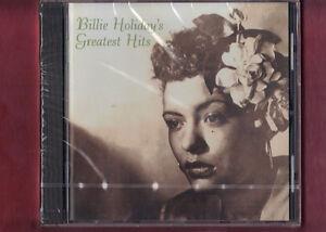 BILLIE HOLIDAY - GREATEST HITS  CD NUOVO SIGILLATO