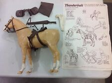 Vintage Thunderbolt horse for Johnny West! Free Shipping!