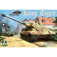 TKM2074 - TAKOM MODEL: 1/35; WWII German Heavy Tank Sd.Kfz.182 King Tiger Porsch
