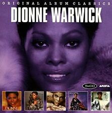 Original Album Classics by Dionne Warwick (CD, Sep-2016, 5 Discs, Legacy)