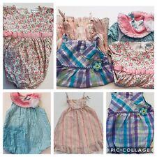 Bundle 4  Girl Dresses Ralph Lauren Janie And Jack Nursery Rhyme Sz 9 Mo
