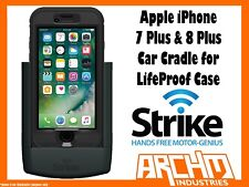STRIKE ALPHA APPLE IPHONE 7 & 8 PLUS CAR CRADLE FOR LIFEPROOF CASE FAST CHARGER