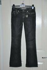 "J & COMPANY 'Beverley' black bootcut jeans, waist 26"", leg 31"""