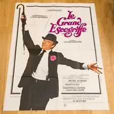 Affiche 120X160 du film : LE GRAND ESCOGRIFFE - CLAUDE PINOTEAU - YVES MONTAND