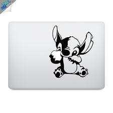 "STITCH Decal Sticker Vinilo Laptop Apple Macbook 13"" 15"" Lilo Disney"
