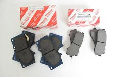 Genuine Toyota 4Runner 2003-2017 FRONT AND REAR BRAKE PAD SETS OEM