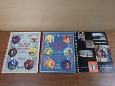 3 ALBUMS CHROMO SUCHARD LA PLUS BELLE HISTOIRE DES TEMPS Vol 1-2-3 Complet tbe