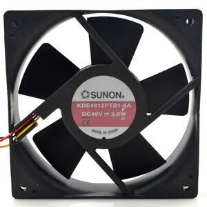 1pc SUNON KDE4812PTB1-6A 48V 3.8W 12CM 120253 Line Inverter Cooling Fan