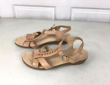 NATURALIZER Leather Sandals Womens 9.5