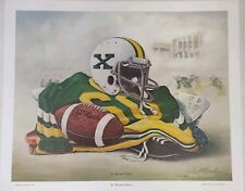 """Fred Thrasher Signed & numbered """" St. Xavier Tigers """" Limited edition Litho New"""