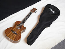 "LUNA High Tide TENOR Ovangkol Electric UKULELE new w/ Gig Bag - 26"" UKE"