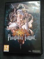 PANDORA'S TOWER NINTENDO WII WIIU COMPLET PAL FRANCAIS RARE RPG