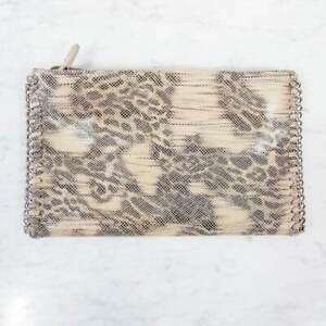 WITCHERY |  Womens Python Print Clutch Bag / Handbag
